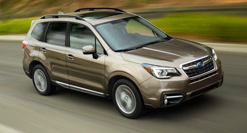 Subaru chốt giá Forester 2017 từ 23,470 USD