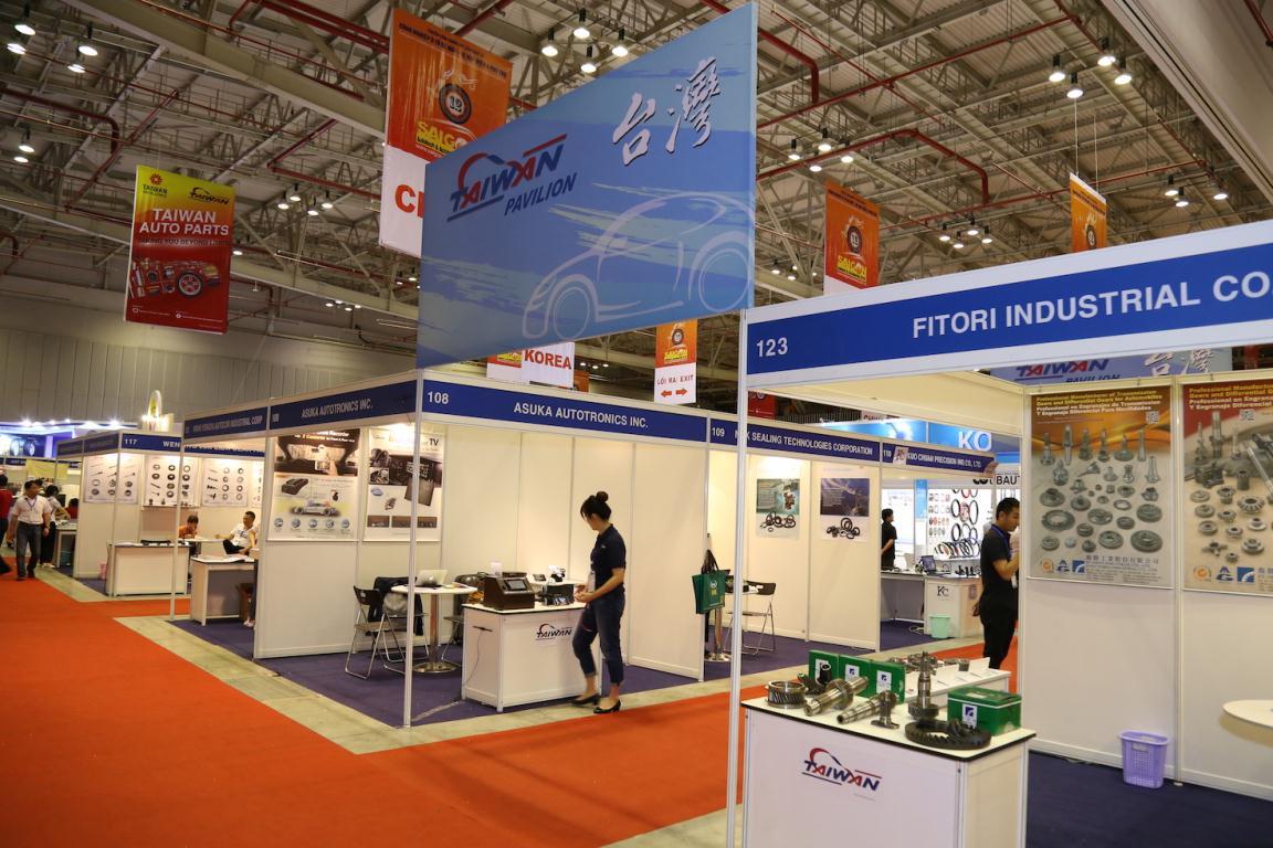 Hơn 50 thương hiệu Đài Loan tham dự Saigon Autotech 2016