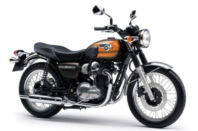 Phiên bản Kawasaki W800 cuối cùng ra mắt vào năm 2017