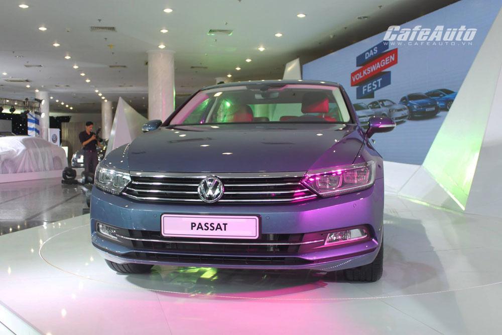 Volkswagen Passat 2016 ra mắt thị trường Việt Nam, giá từ 1,45 tỷ đồng