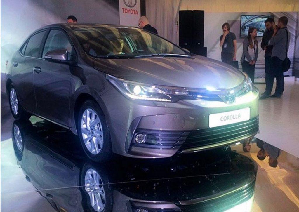 Toyota Corolla 2017 bất ngờ ra mắt tại Nga