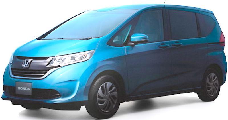 Lộ diện mẫu MPV mới của Honda