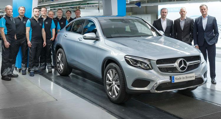 Mercedes-Benz GLC Coupe đã bắt đầu được sản xuất