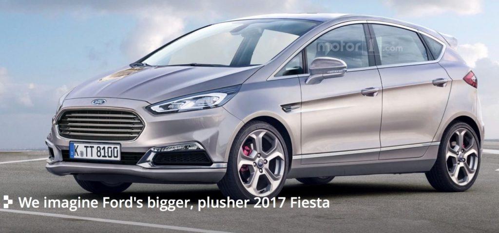 Xem trước Ford Fiesta 2017