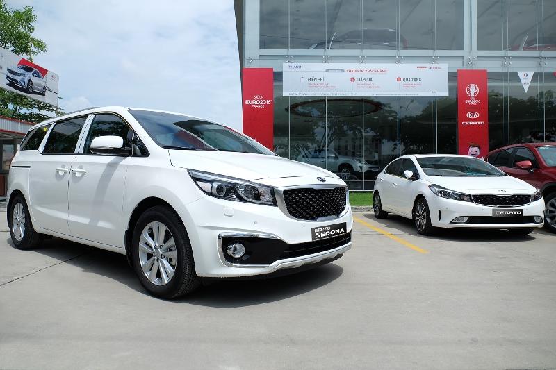 Hơn 14.000 xe Kia được người Việt mua trong 6 tháng