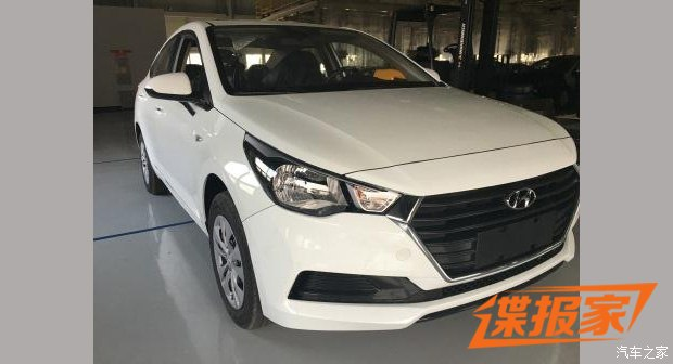 Hyundai Accent 2017 lần đầu lộ diện tại Trung Quốc