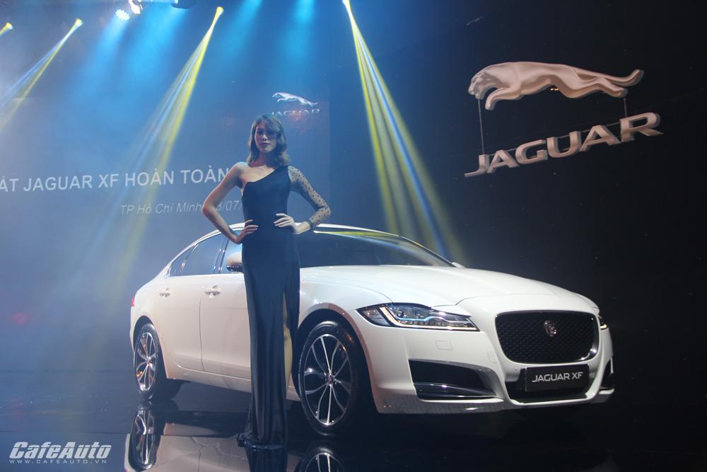 Jaguar XF hoàn toàn mới ra mắt tại Việt Nam