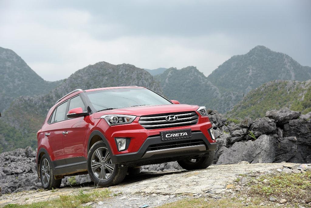 Hyundai Creta mới được bắt gặp chạy thử ở Brazil