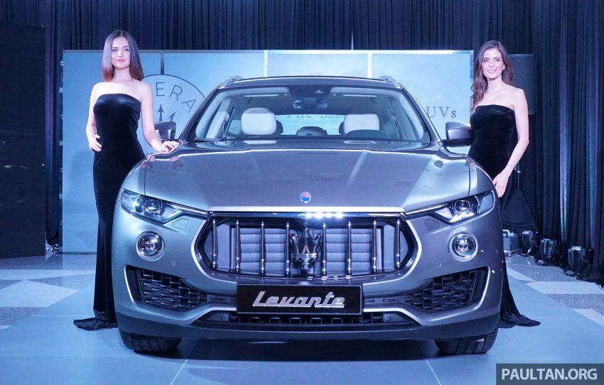 """Maserati Levante """"cập bến"""" Malaysia trước khi ra mắt tại Việt Nam"""