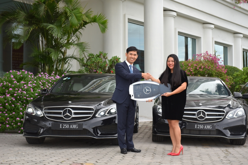 "Pearl River Hải Phòng ""tậu"" 4 chiếc Mercedes-Benz E-Class"