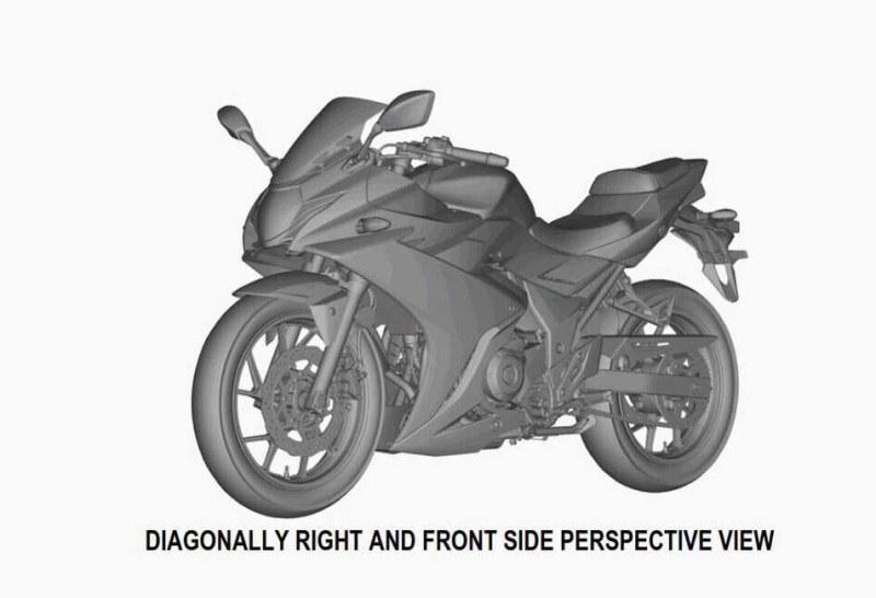 Suzuki GSX R250 bị rò rỉ hình ảnh phác thảo