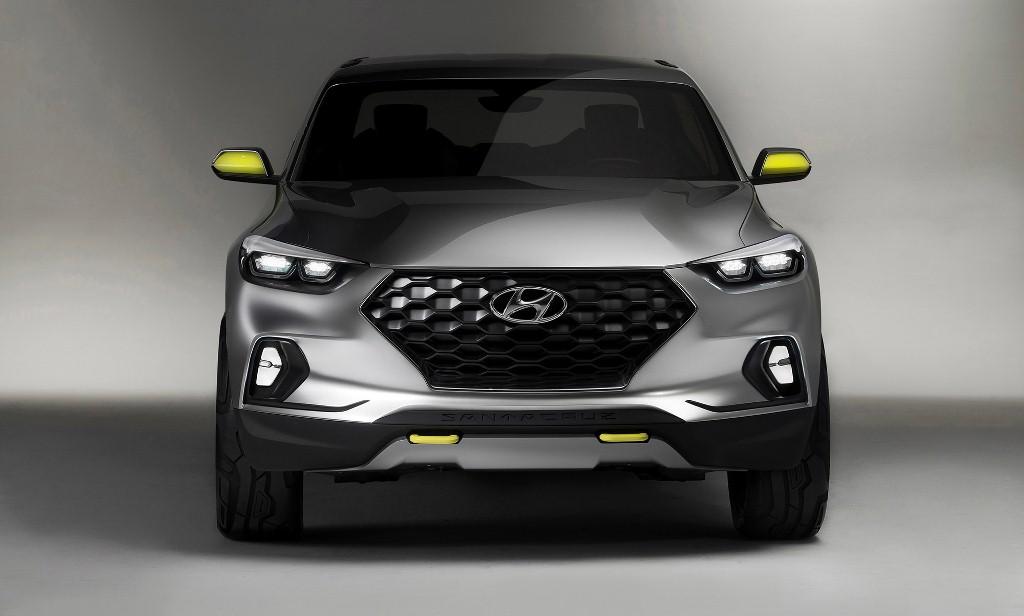 Bán tải lai crossover Hyundai Santa Cruz sắp ra mắt
