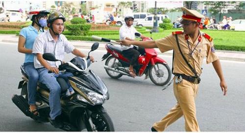 Điểm mới về xử phạt vi phạm giao thông