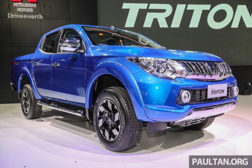 Mitsubishi Triton 2016 xuất hiện tại Malaysia