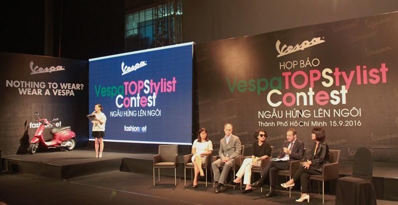 Cuộc thi Vespa top Stylist lần đầu tổ chức tại Việt Nam