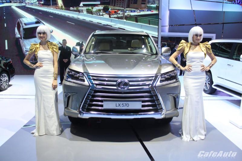 Gần 100 mẫu xe sẽ được trưng bày tại Vietnam Motor Show 2016