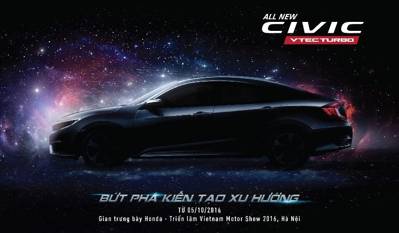 Honda Civic 2016 sắp ra mắt tại Việt Nam
