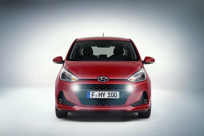 Hyundai i10 2017 đã sẵn sàng ra mắt