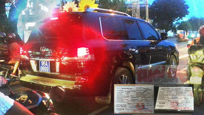 """""""Hóa kiếp"""" xe Lexus: Bộ trưởng Bộ công an khẳng định là sai"""