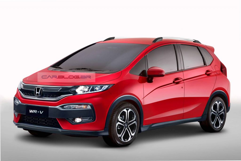 Honda phát triển crossover cỡ nhỏ WR-V, ra mắt vào năm sau