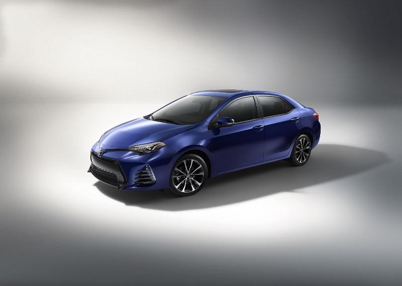 Toyota Corolla 2017 nâng cấp kiểu dáng, trang bị nội thất và an toàn