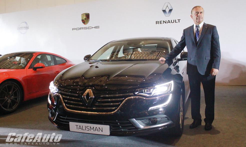 Xem trước Renault Talisman sắp ra mắt tại Việt Nam