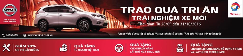 Cùng Nissan Việt Nam trao quà tri ân – trải nghiệm xe mới