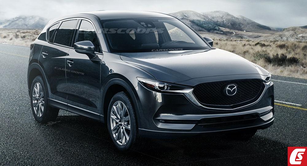 Mazda CX-5 2017 lộ hình phác thảo