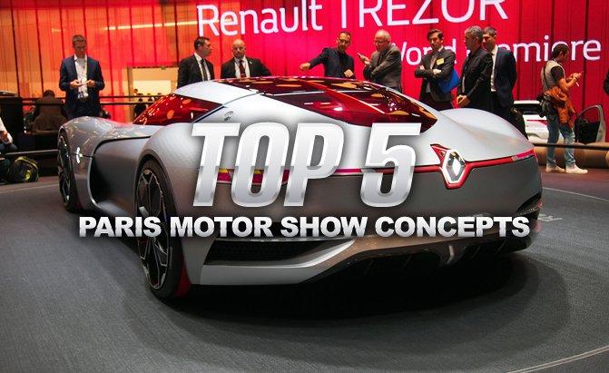 Ngắm 5 mẫu concept gây sốt tại Paris Motor Show 2016
