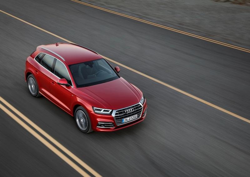 So sánh nhanh Audi Q5 đời 2017 và 2013