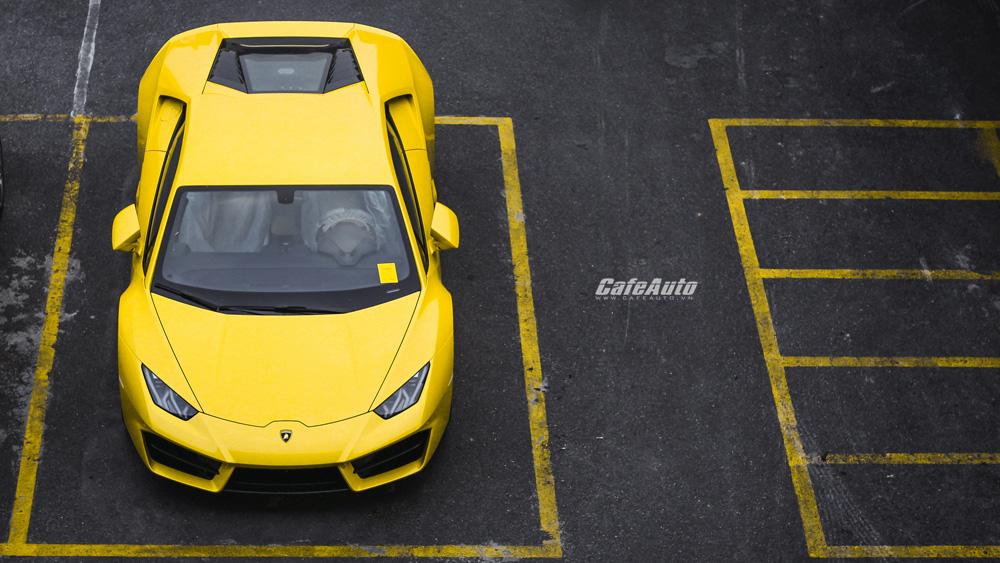 Chi tiết Lamborghini Huracan LP580-2 chính hãng thứ 2 về Việt Nam