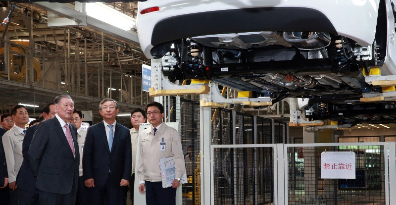 Hyundai mở nhà máy thứ 4 tại Trung Quốc