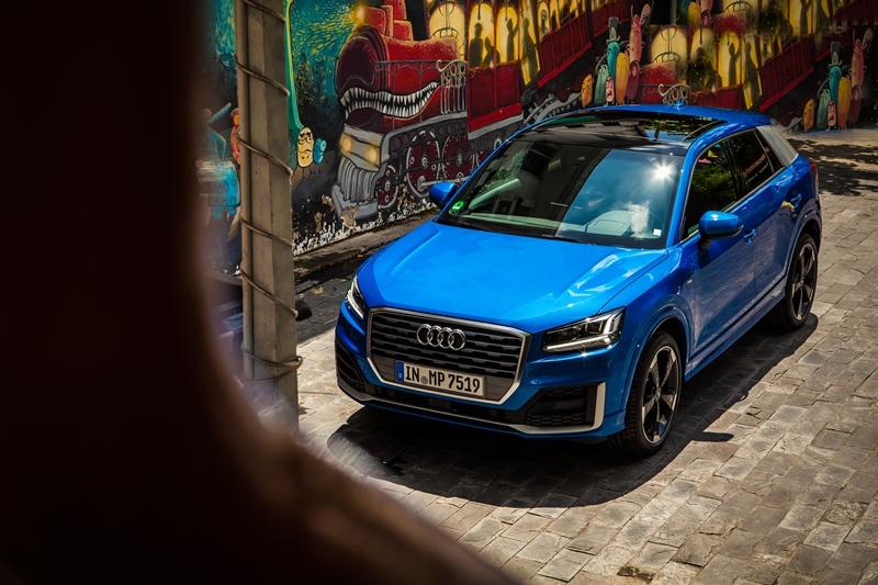 Cận cảnh Audi Q2 mới ra mắt tại Việt Nam