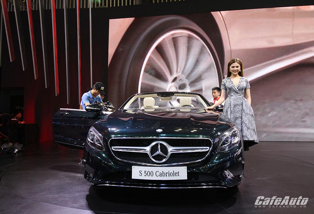 """Chiêm ngưỡng """"tuyệt tác"""" Mercedes-Benz S500 Cabriolet tại VIMS 2016"""