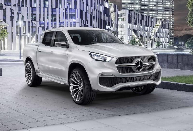 Ngắm mẫu bán tải đầu tiên của Mercedes-Benz