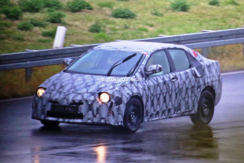 Toyota Corolla 2019 chạy thử nghiệm