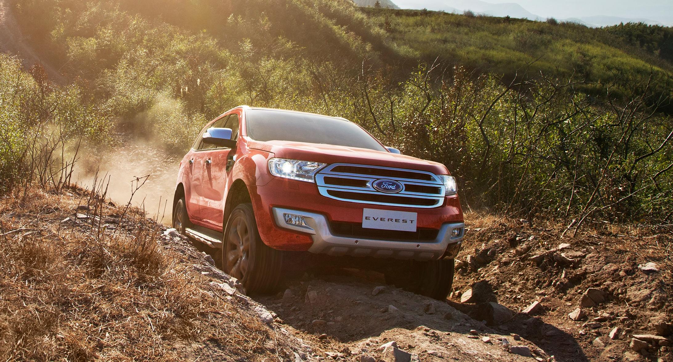 5 điểm thu hút nhất trên Ford Everest 2016