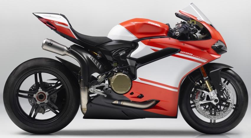 Ducati trình làng 1299 Superleggera bản giới hạn mạnh 215 mã lực