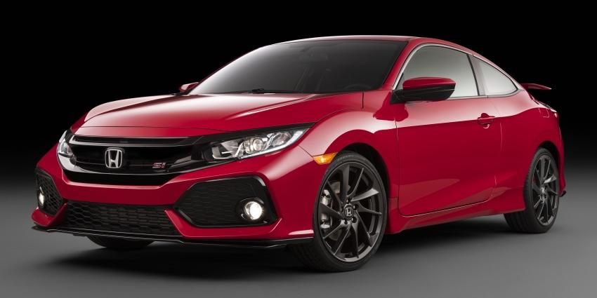 Honda Civic Si lộ diện trước thềm LA Auto Show