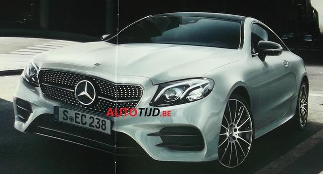 Mercedes-Benz E-Class Coupe 2018 rò rỉ hình ảnh và thông số