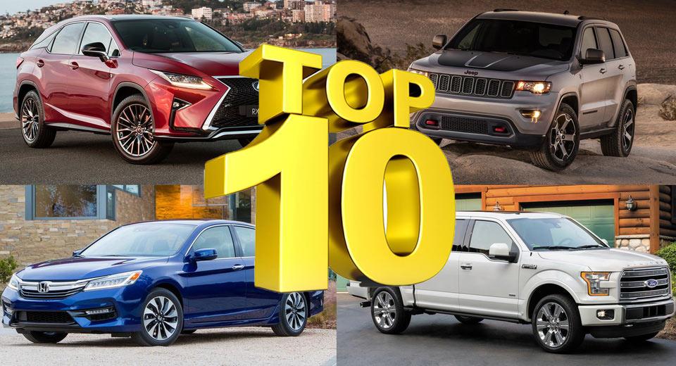 10 mẫu ô tô được giới nhà giàu Mỹ mua nhiều nhất năm 2016