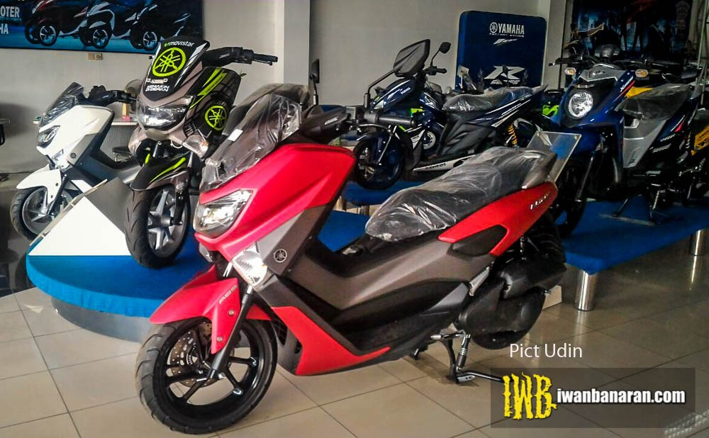 Yamaha NMax 155 2017 màu mới xuất hiện ở Indonesia