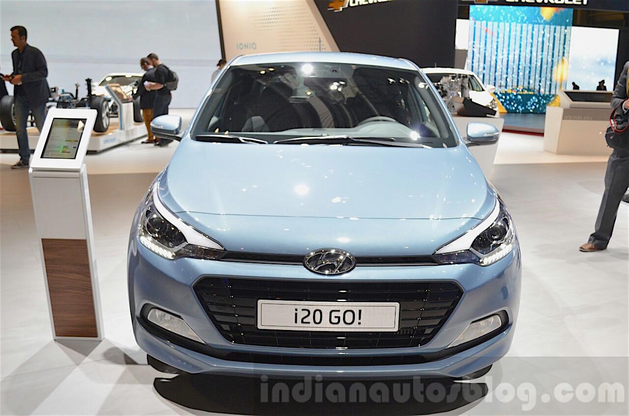 Huyndai i20 facelift sắp mắt tại EU vào năm 2018