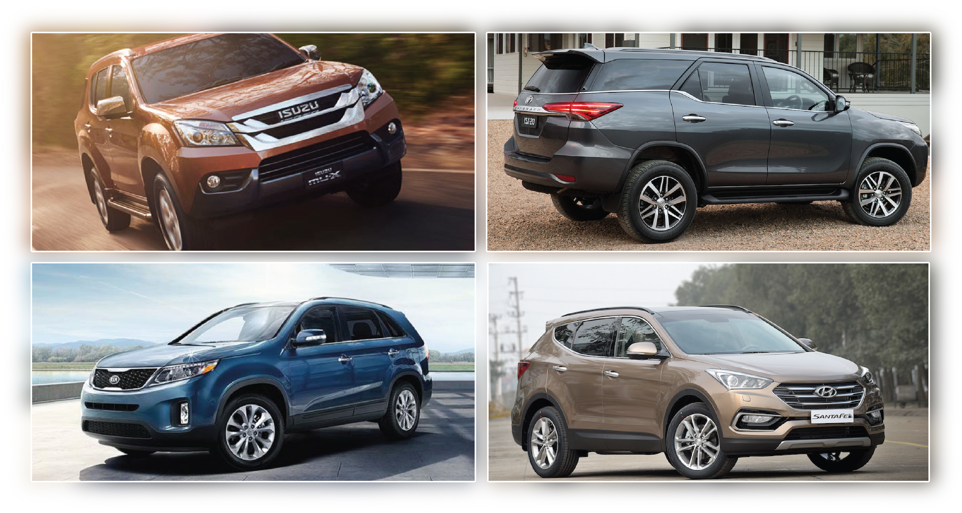 Chọn SUV 7 chỗ du xuân ngày Tết trong khoảng 1 tỷ đồng