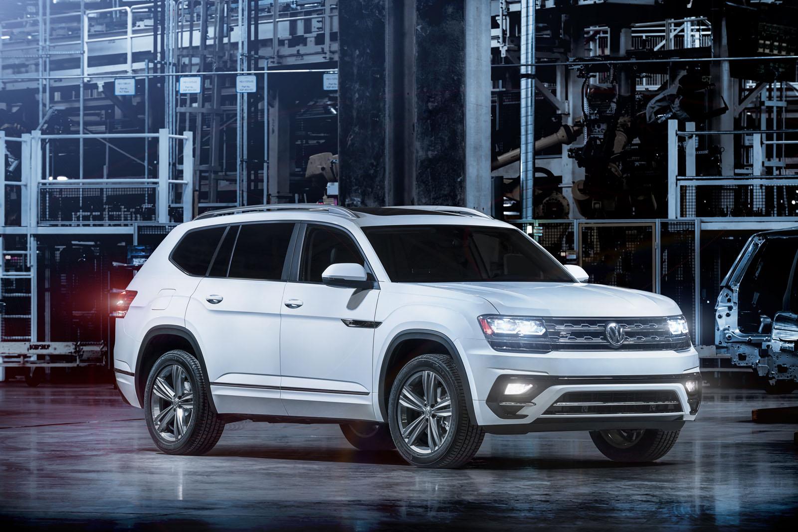 Volkswagen Atlas R-Line ấn định ra mắt tại Detroit vào tuần tới