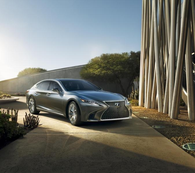 Lexus chính thức tung