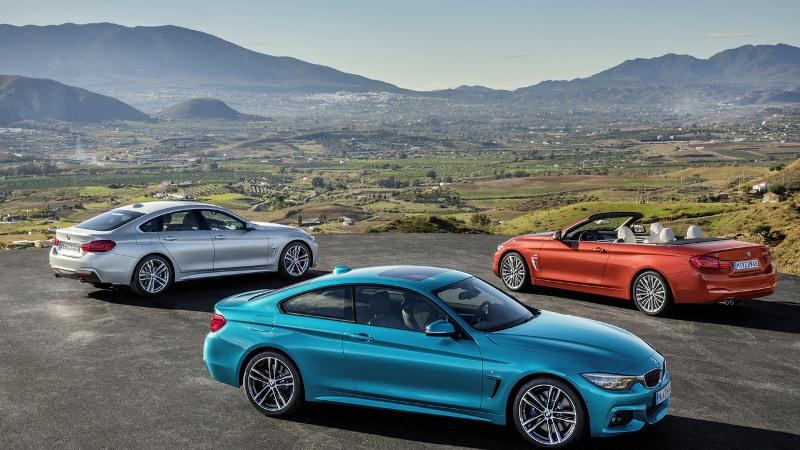 BMW 4 Series facelift 2017 ra mắt với 31 phiên bản