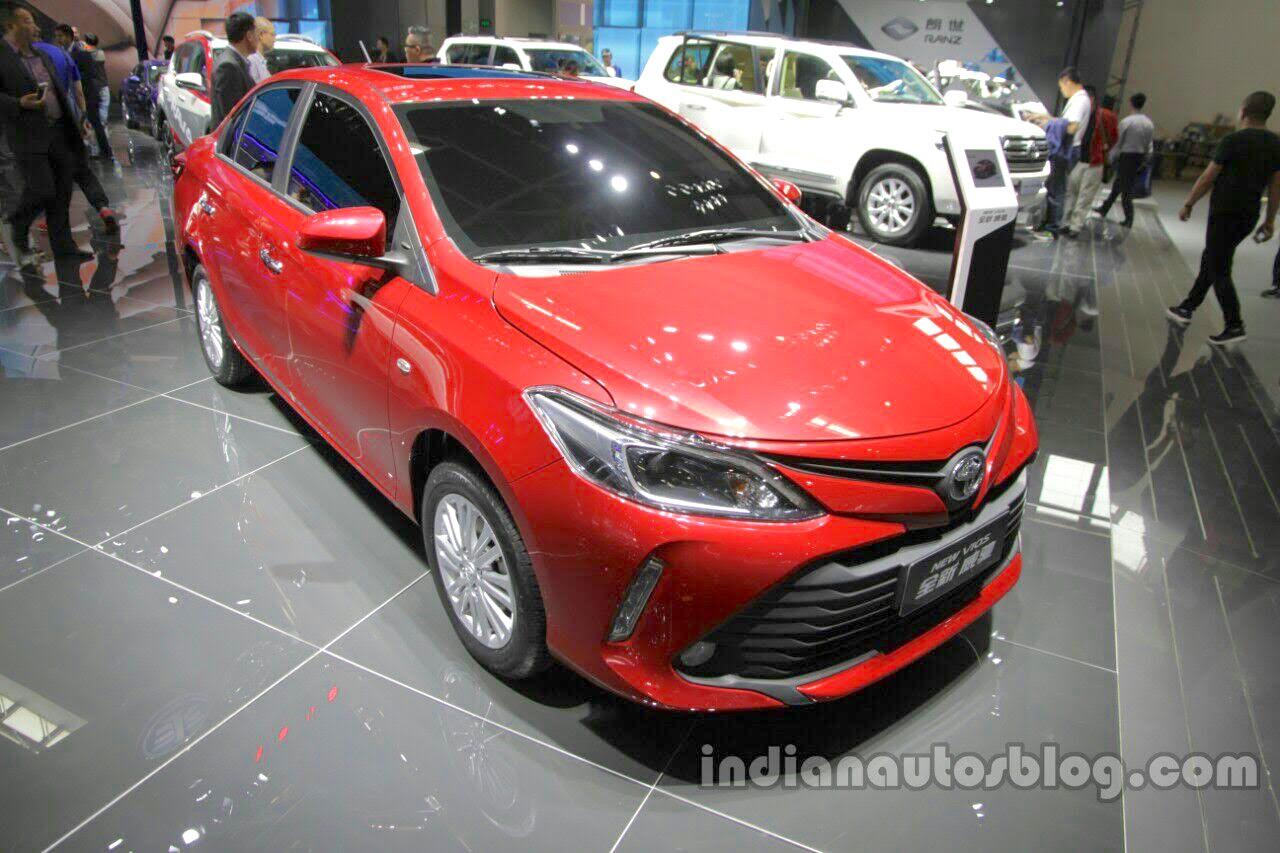 Toyota Vios 2017 sẽ trình làng bản facelift vào ngày 23/1 tới