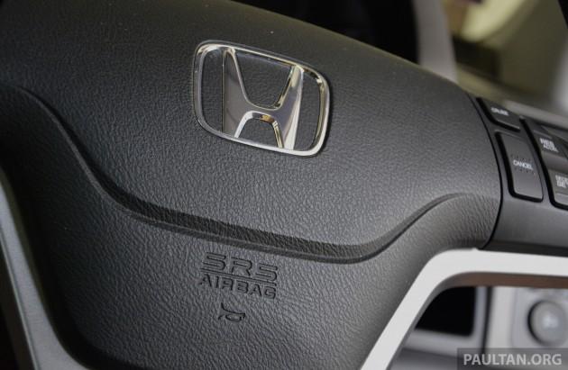 Honda thu hồi 24.962 xe vì lỗi túi khí Takata