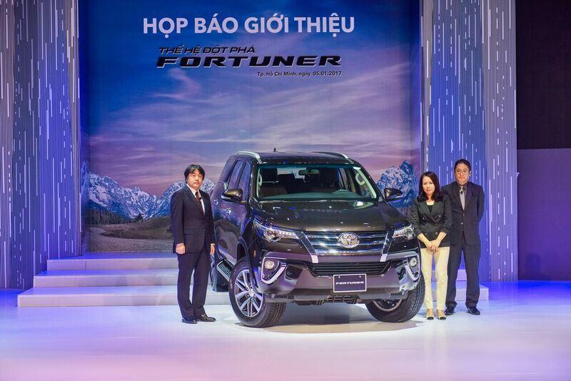 Hơn 1200 xe Fortuner được bán ra trong tháng 1/2017